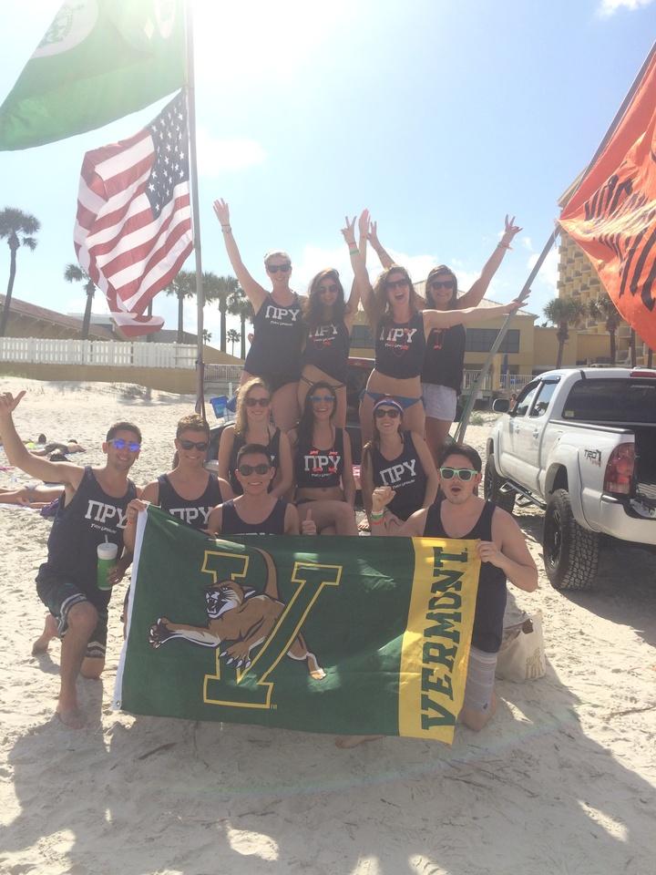 Pru Goes To Daytona Beach, Florida! T-Shirt Photo