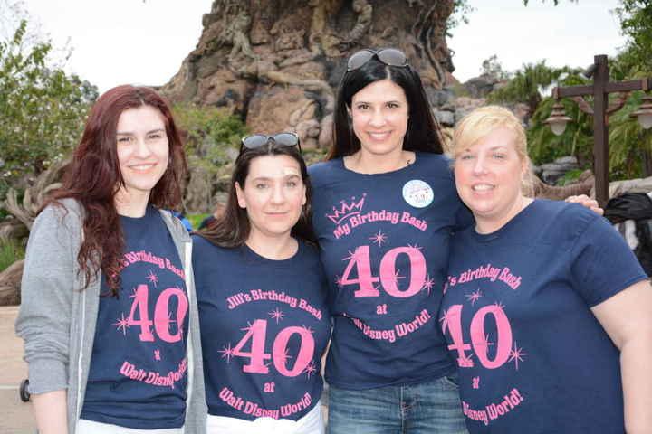 40th Birthday Fun In Walt Disney World! T-Shirt Photo