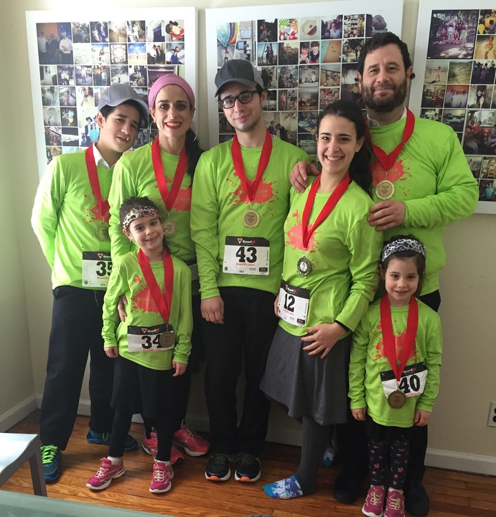 Family Marathon T-Shirt Photo
