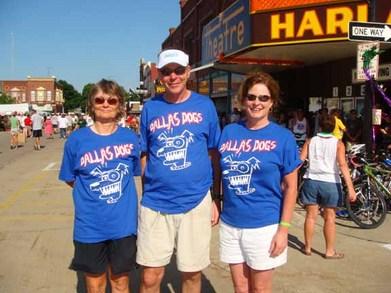 Dallas Dogs Do Ragbrai Xxxvi T-Shirt Photo