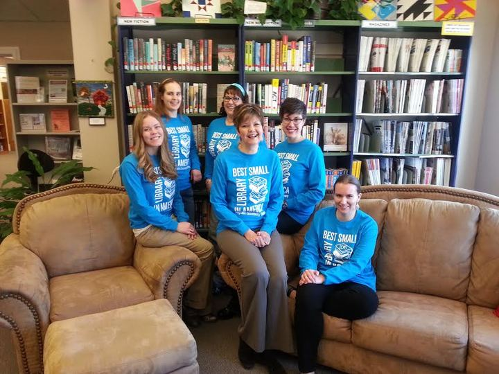 Best Small Library In America! T-Shirt Photo