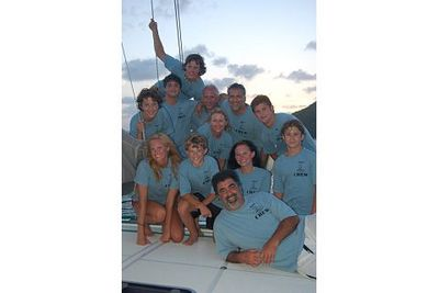 Riptide Captain And Crew British Virgin Islands 2008 T-Shirt Photo
