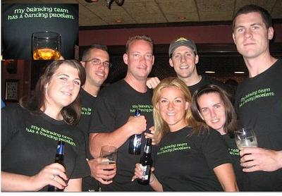 My Drinking Team Has A Dancing Problem T-Shirt Photo
