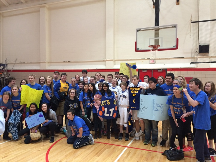 Lyons Township Special Olympics State T-Shirt Photo