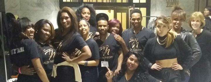 The Best Salon In Atlanta .. Salon Theory  T-Shirt Photo