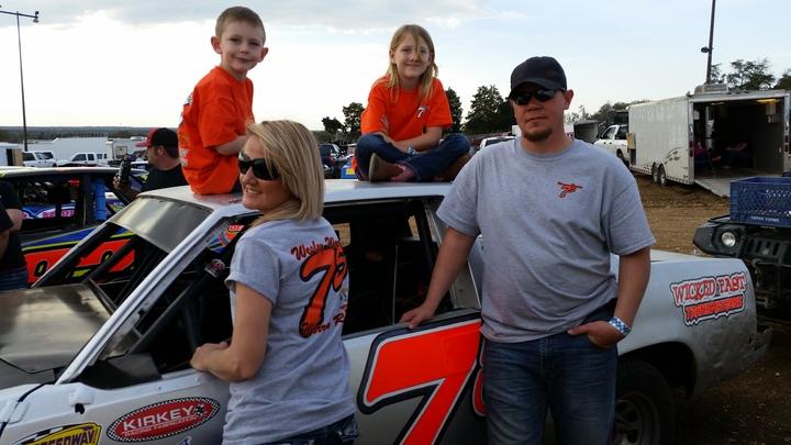 Warren Racing #75 T-Shirt Photo