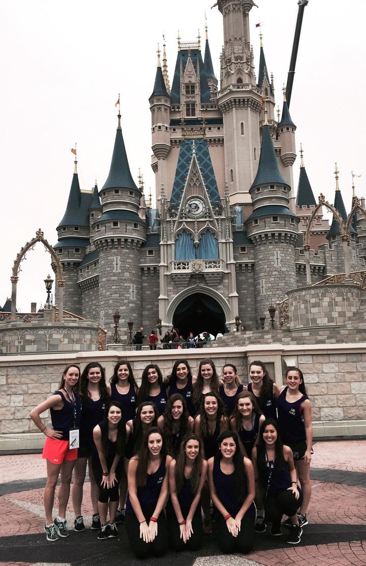 Dance Team Does Disney T-Shirt Photo