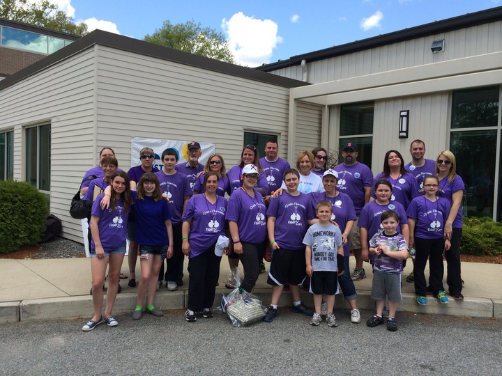 Cystic Fibrosis Walk Team Laura T-Shirt Photo