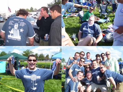 Kentucky Derby Bachelor Party T-Shirt Photo