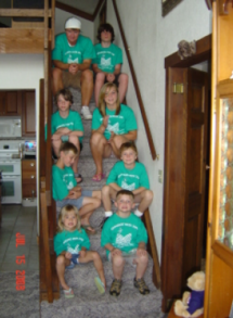 Smith Mtn Lake Grandkids T-Shirt Photo