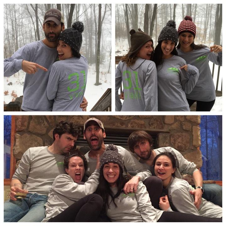Having Fun In The Mountains! T-Shirt Photo