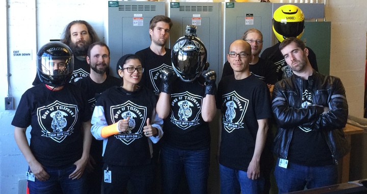 Sons Of Telephony Twilio Moto Club Is Ready To Ride! T-Shirt Photo