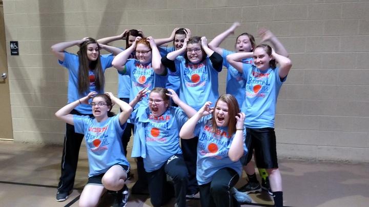 Asa Warriors Girls Basketball Team T-Shirt Photo