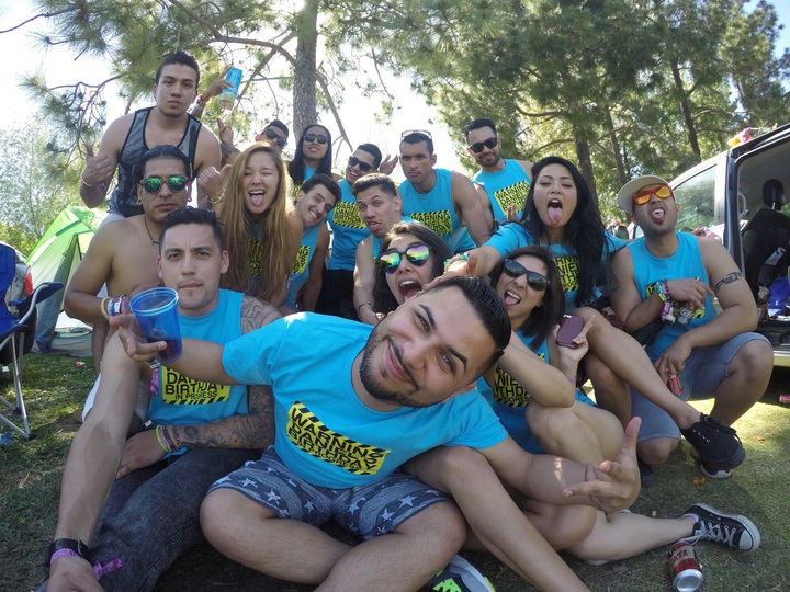 My Bday Weekend At Beyond Wonderland  T-Shirt Photo