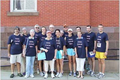 Pre Race Picture T-Shirt Photo