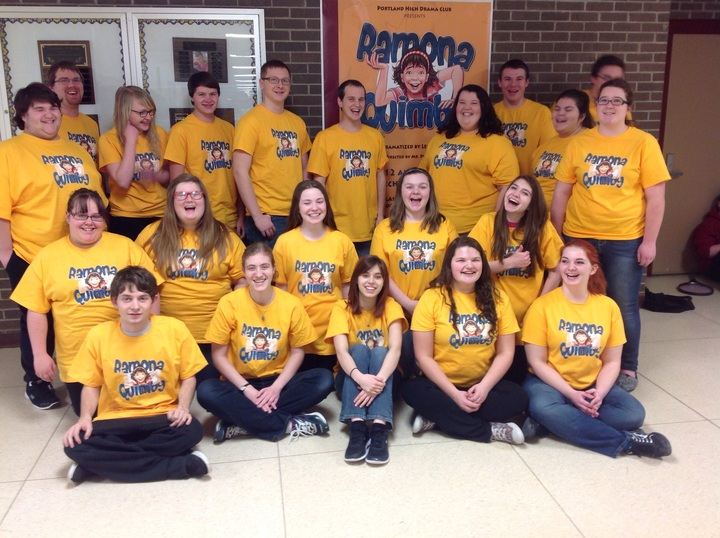 Portland High Drama Club T-Shirt Photo