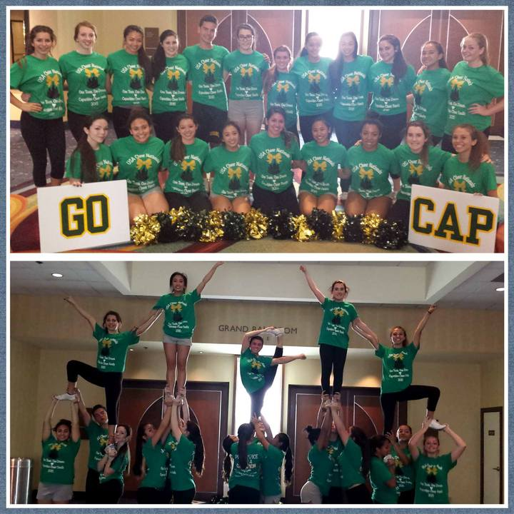 Capuchino Cheer At Nationals T-Shirt Photo