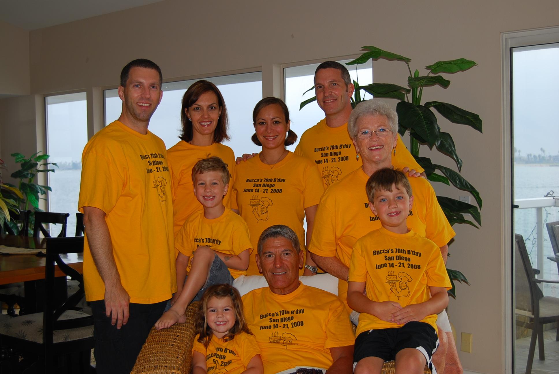 Shirt design san diego - The Ricotta Family Vacation T Shirt Photo