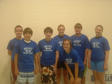 Hunt Swim Camp T-Shirt Photo