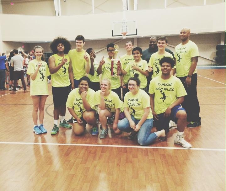 Dunkin' Disciples Win Championship! T-Shirt Photo