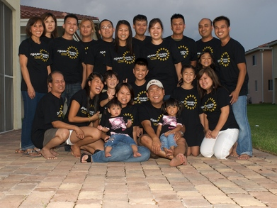 Nguyen Cousins Reunite T-Shirt Photo