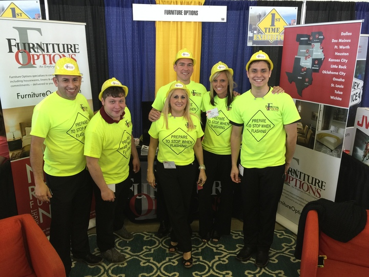 Apartment Association Greater Dallas Trade Show T-Shirt Photo