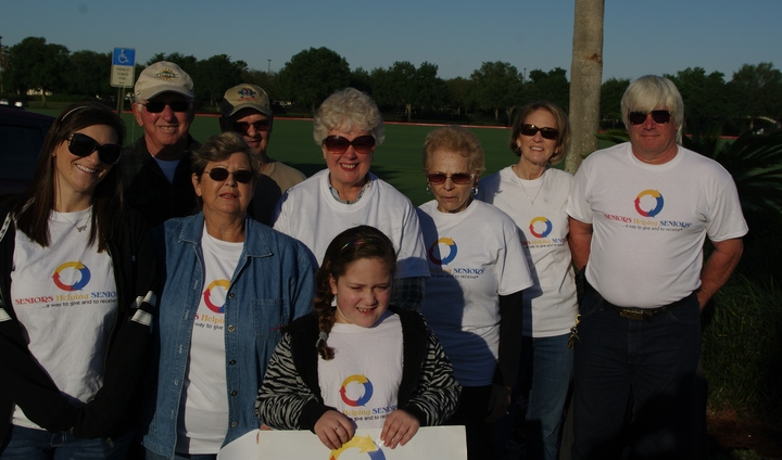 Alzheimer's Family Walk For A Cure T-Shirt Photo