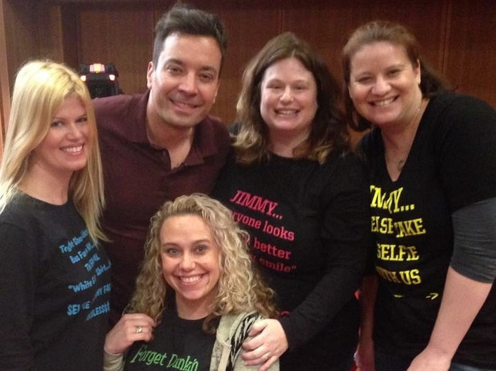 Jimmy Fallon Loved Our Custom Ink! T-Shirt Photo