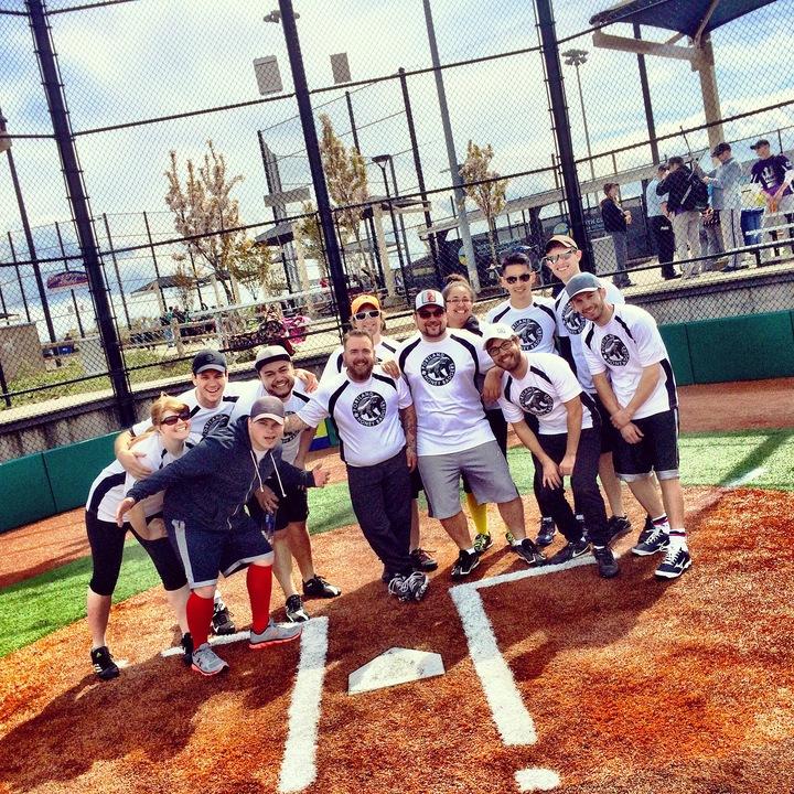 Softball Jersey Design Ideas custom sublimated hockey softball and baseball jerseys Win Bdb69e410a1bf2f729ca7c7c7302c3e5e6b61b8b603e37aaf01c9a488b9bd08f Pdx Honey Badgers Open The Season Strong T Shirt Photo