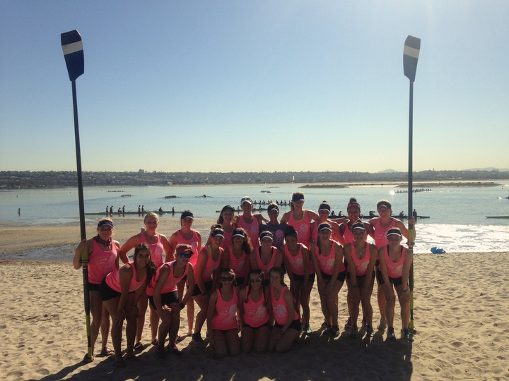 Rcrc Takes The San Diego Crew Classic! T-Shirt Photo
