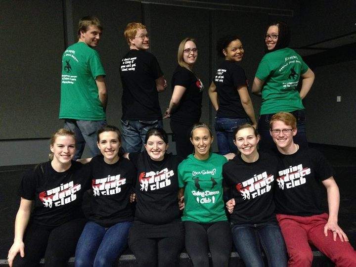 Uw River Falls Swing Dance Club T-Shirt Photo