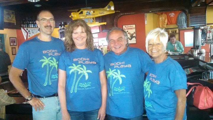 Bodhi Playa All The Way Up In Michigan!  T-Shirt Photo