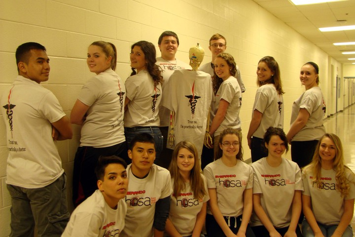 Sherando Health Occupations Students Of America T-Shirt Photo