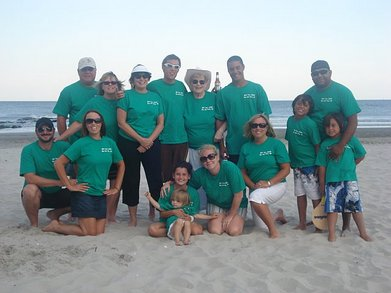 Extreme Family Vacation Tour 2008 T-Shirt Photo