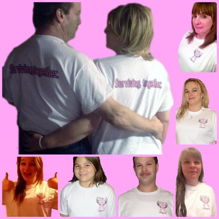 Vickie's I.B.C. Angels; Surviving Together T-Shirt Photo