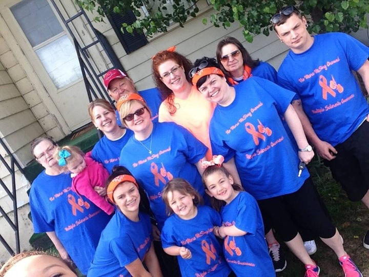 Ms Walk 2015 T-Shirt Photo