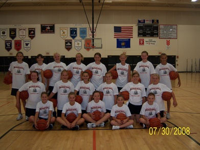 "Portage Hoopsters ""Preparing To Win!"" T-Shirt Photo"