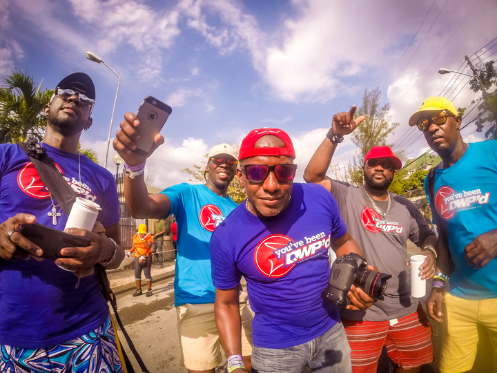 Carnival In Jamaica T-Shirt Photo