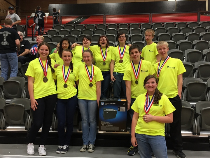 Fairmont Science Olympiad Team T-Shirt Photo