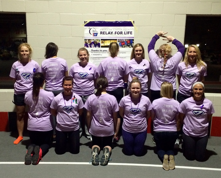 We Relay For Our Superhero, Zuza! T-Shirt Photo