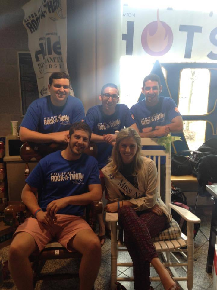 Miss Ny Comes To Rock A Thon T-Shirt Photo