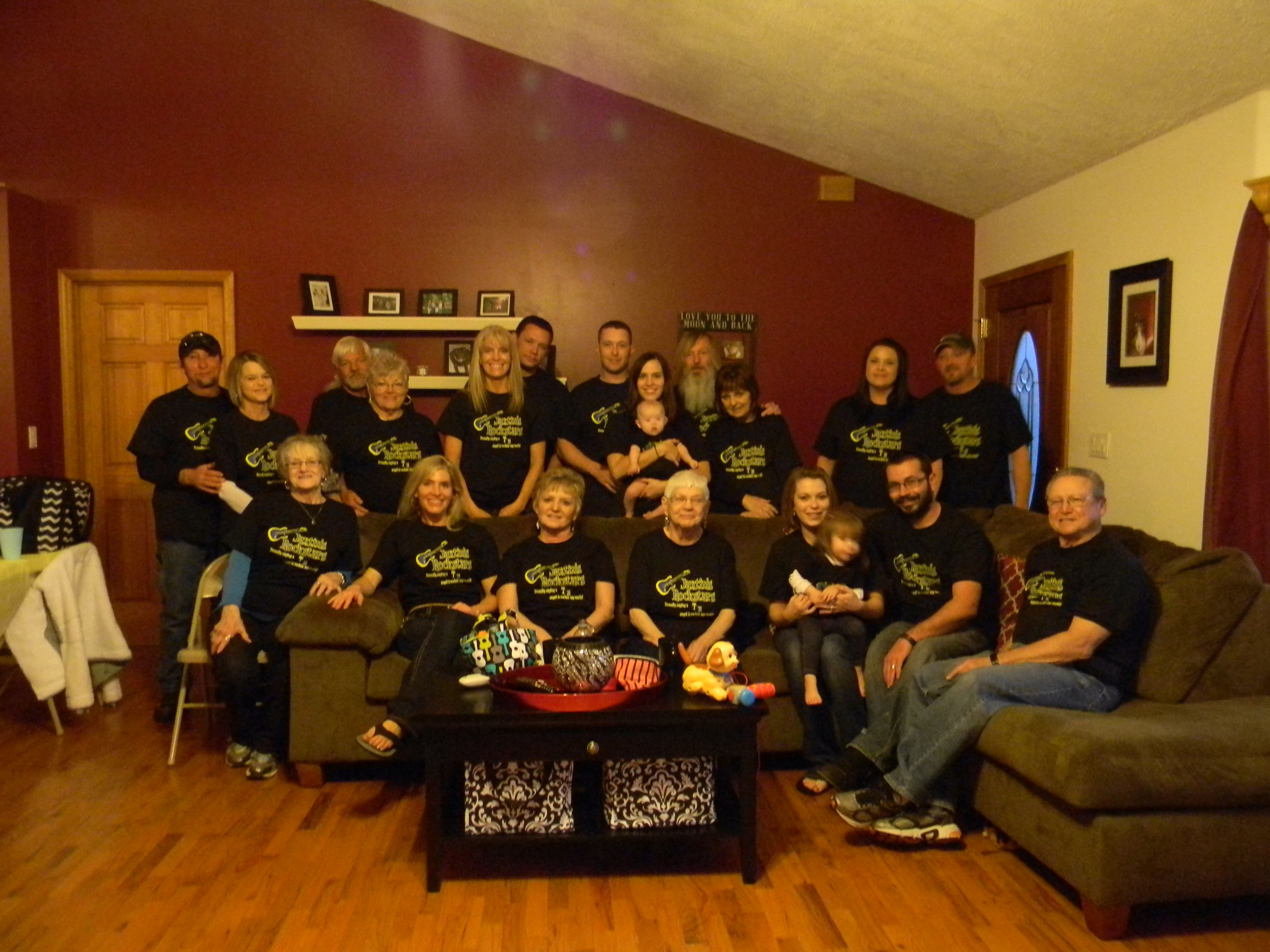 Shirt design jacksonville fl - Jaxtin S Rockstars World Down Syndrome Day T Shirt Photo