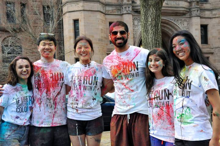 Yale Net Impact Color Run T-Shirt Photo