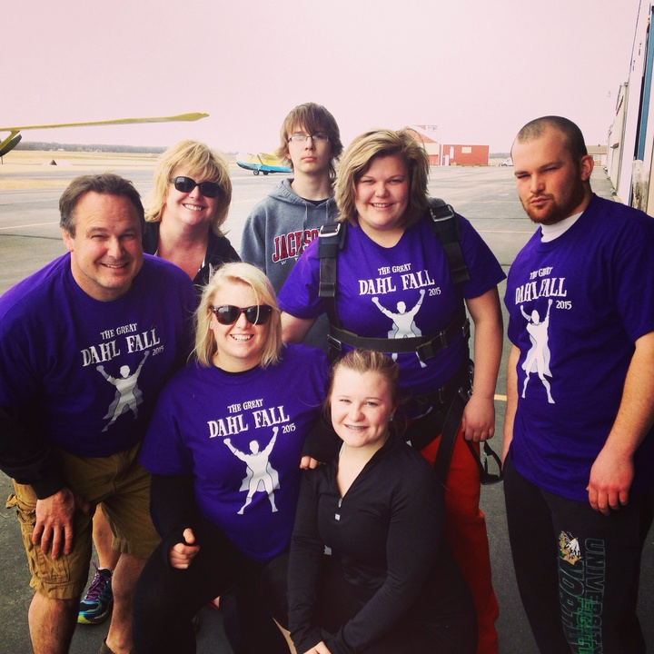 The Great Dahl Fall Skydiving Trip! T-Shirt Photo