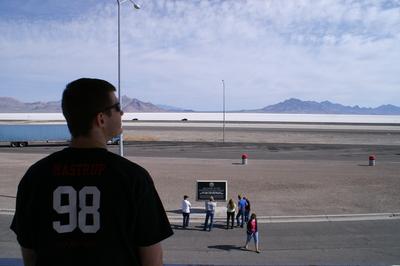 Mastrup At The Salt Flats T-Shirt Photo