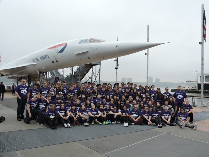 Marist Band On Tour In New York T-Shirt Photo