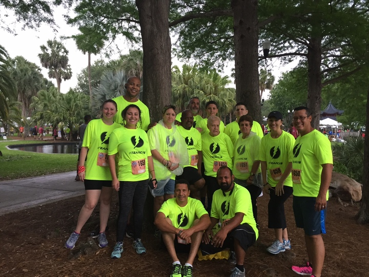 Team C&B Corporate 5k 2015 T-Shirt Photo