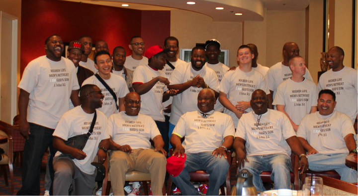 5th Annual Men's Retreat Orange County California. Reuniting Fathers And Sons T-Shirt Photo