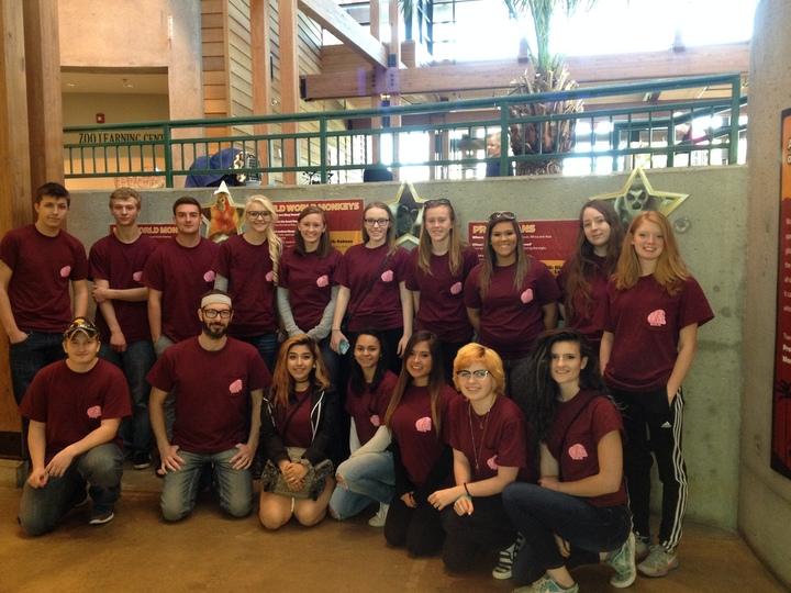 Senior Environmental Club Visits The Kc Zoo! T-Shirt Photo