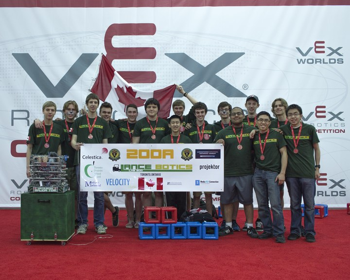 Lancebotics 200 A At 2015 Vex World Championships T-Shirt Photo